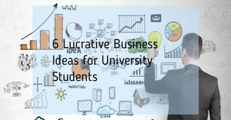 Lucrative business ideas for students