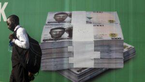 Packs of thousands of naira